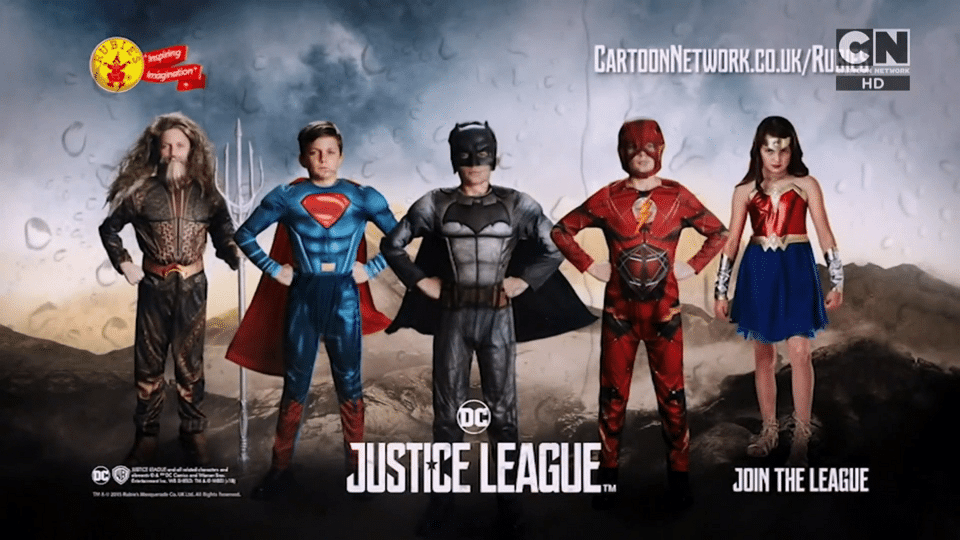 Cartoon Network UK Justice League Movie Competition