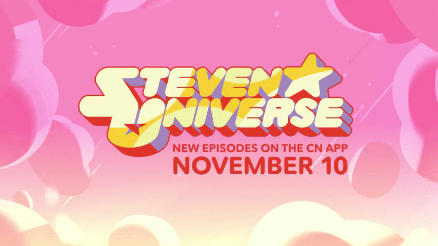 Cartoon Network USA Steven Universe New Episodes On The App From This Friday 10th November