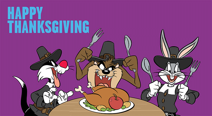 Boomerang USA Newsletter Happy Thanksgiving Celebrate With A Cartoon Feast