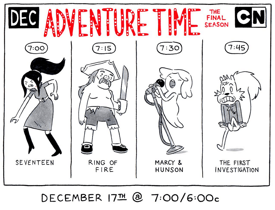 Cartoon Network USA Adventure Time New Episodes December 2017