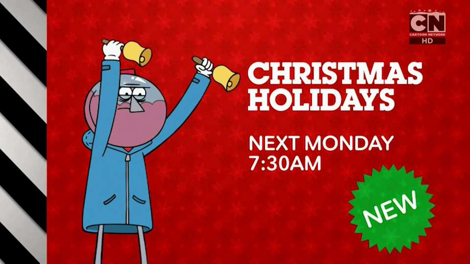 Cartoon Network UK Christmas Holidays 2017 Starts 18th December