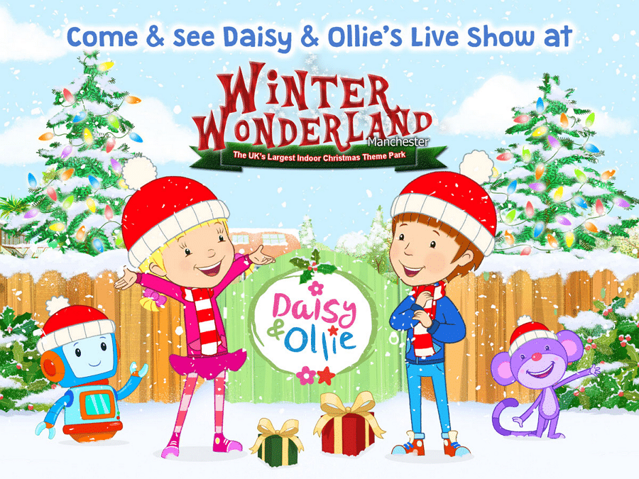 Daisy And Ollie Live Show At Winter Wonderland Manchester 2017