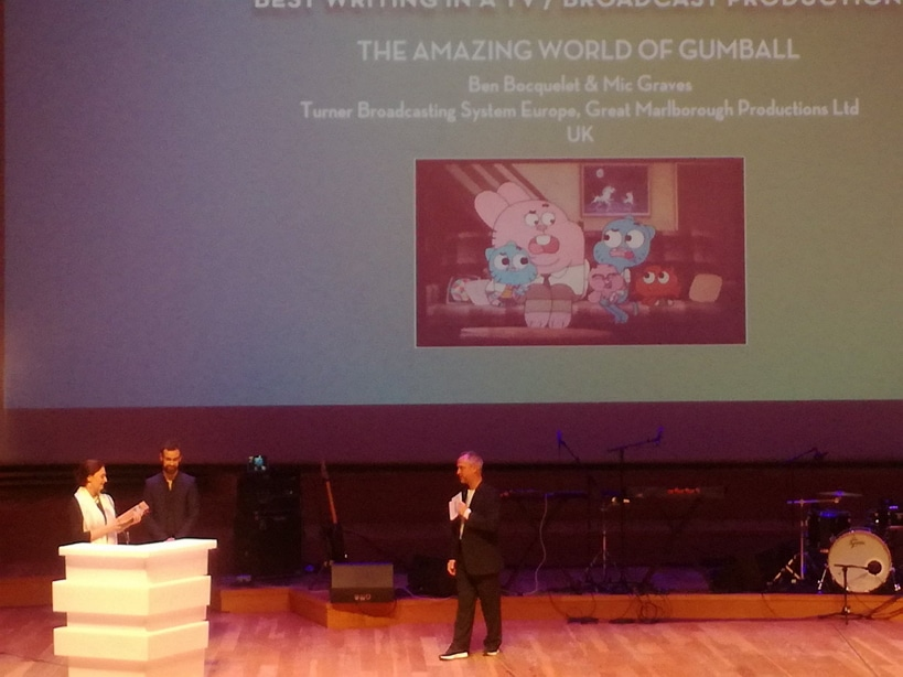 The Amazing World Of Gumball Wins Emile Award For Best TV Writing