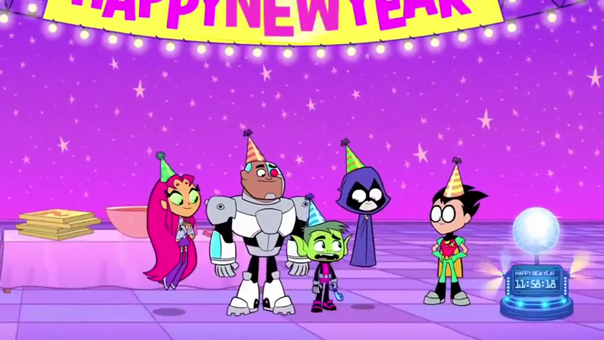 Teen Titans Go! New Year 2017