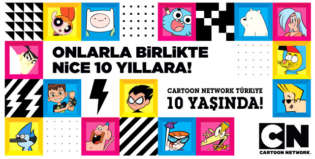 Cartoon Network Turkey 10th Anniversary On 28th January