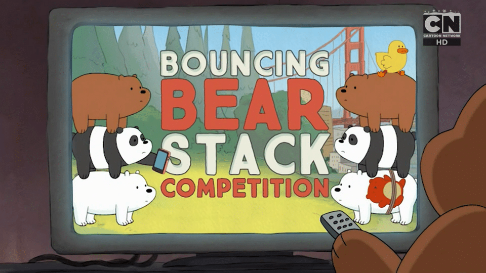 Cartoon Network UK We Bare Bears Bouncing Bearstack Competition