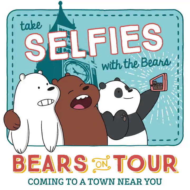 Cartoon Network UK We Bare Bears Bearista Coffee Mobile UK Tour