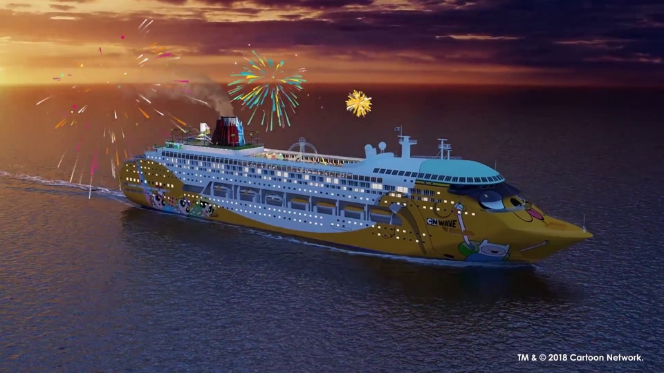 oon Network Wave Cruise Ship To Set Sail In Asia Late 2018
