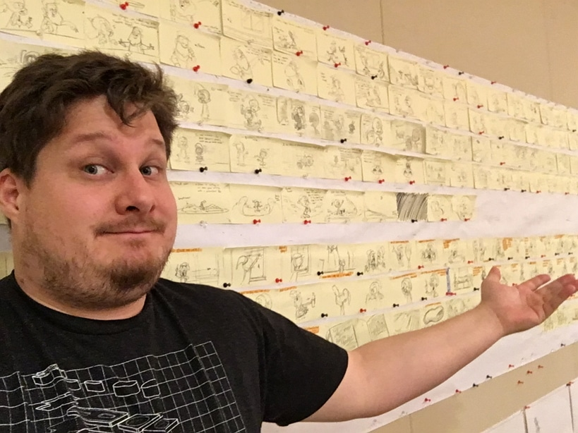 Storyboard For Final Episode Of New Looney Tunes Finished