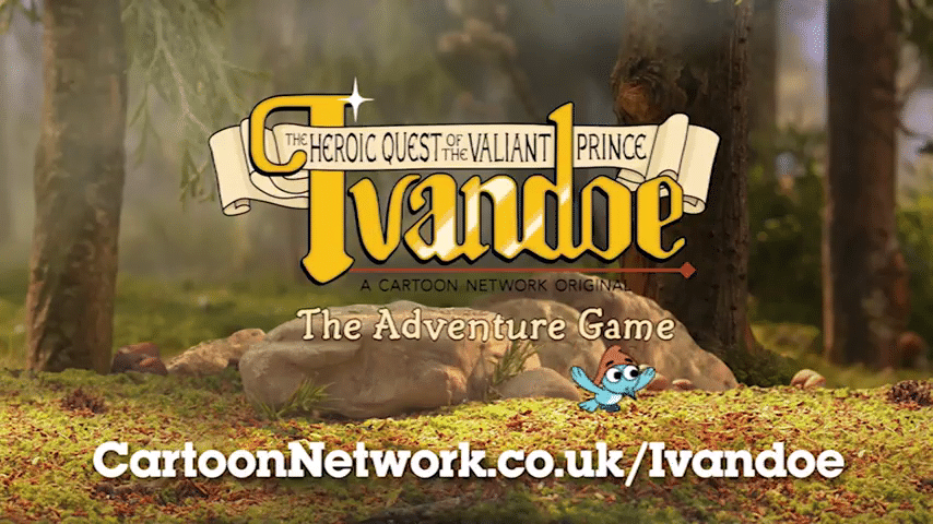 The Heroic Quest Of The Valiant Prince Ivandoe Adventure Game Now On The Cartoon Network UK Website