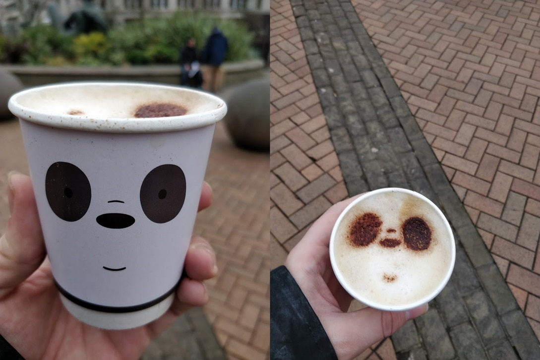 Special Report We Bare Bears Bearista Coffee Mobile UK Tour Birmingham 14th January