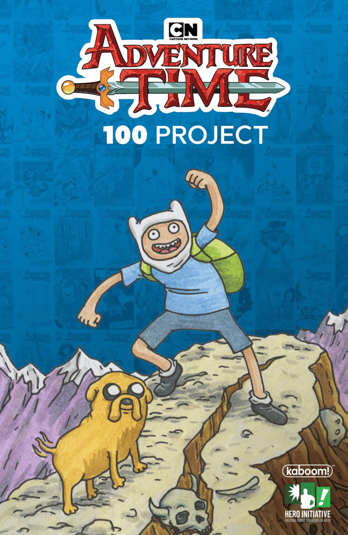 BOOM! Comics, Cartoon Network And Hero Initiative Team Up For The Adventure Time 100 Comic Cover Project