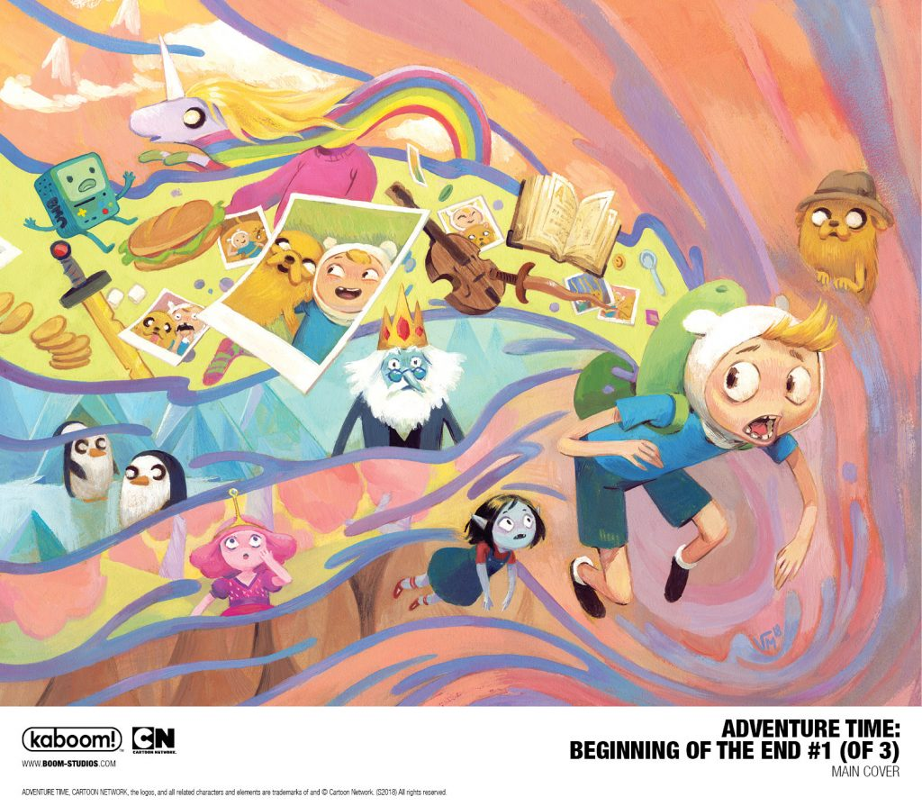 New Comic Book Series Adventure Time: Beginning Of The End Starts In May 2018