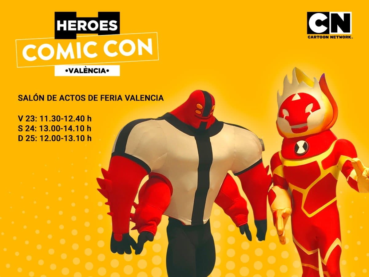 Cartoon Network At Heroes Comic Con València, Spain 23rd-25th February 2018