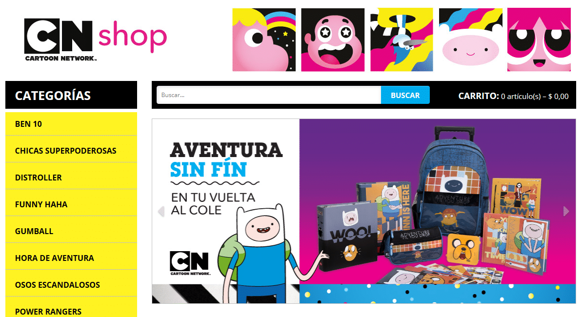 Cartoon Network Online Store Launches In Argentina