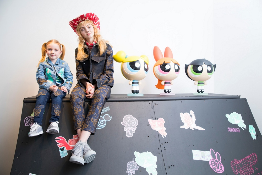 Katie Eary Unveils Powerpuff Girls Womanswear Collection For London Fashion Week