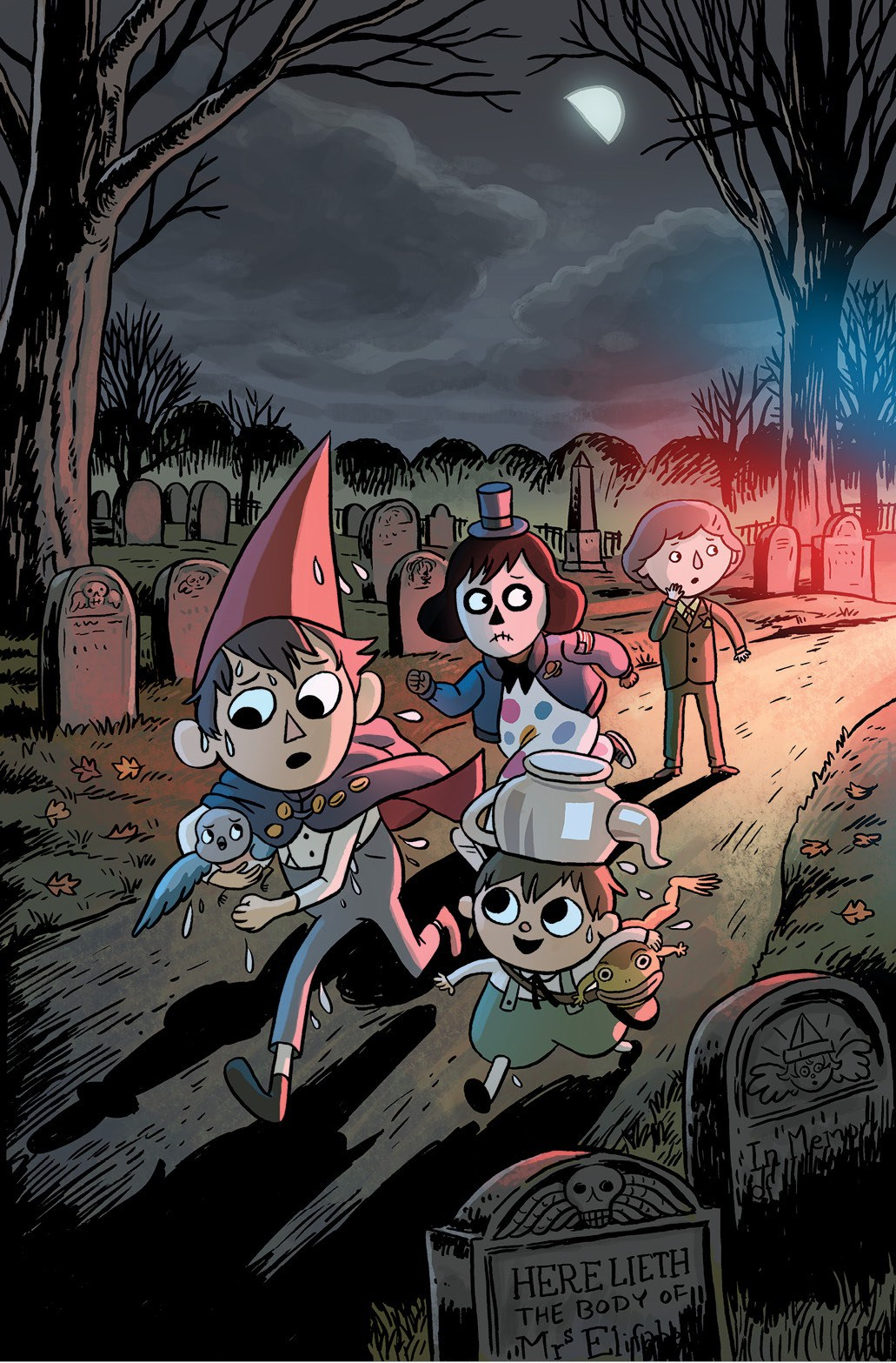 Over The Garden Wall: Distillatoria Graphic Novel To Be Released November 2018