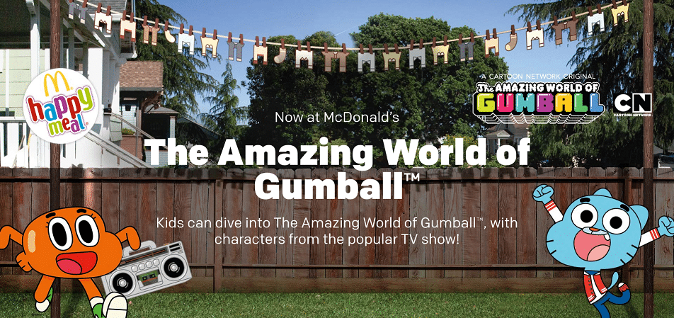 The Amazing World Of Gumball Happy Meals Now At McDonalds UK
