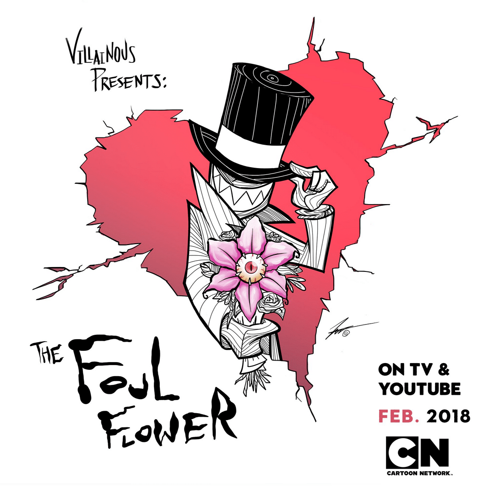 New Villainous Animated Short The Foul Flower