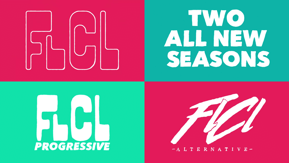 Two New Seasons Of FLCL: FLCL Progressive And FLCL Alternative Coming Soon To Adult Swim USA