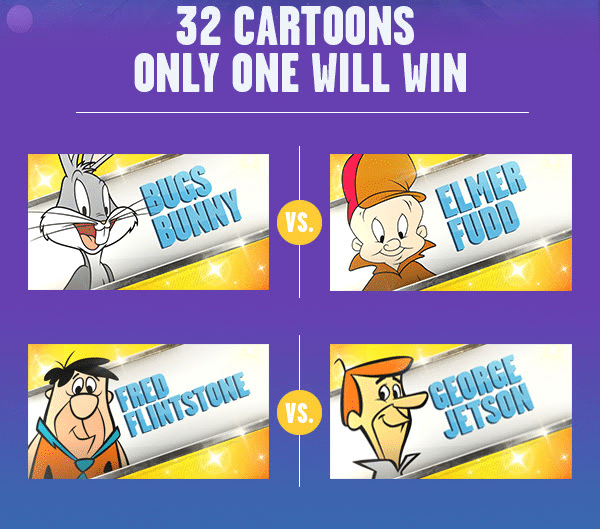 Boomerang USA Best Cartoon Bracket 32 Cartoons