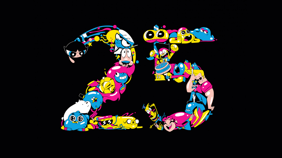 Cartoon Network UK 25th Anniversary: Previous Birthday Celebrations