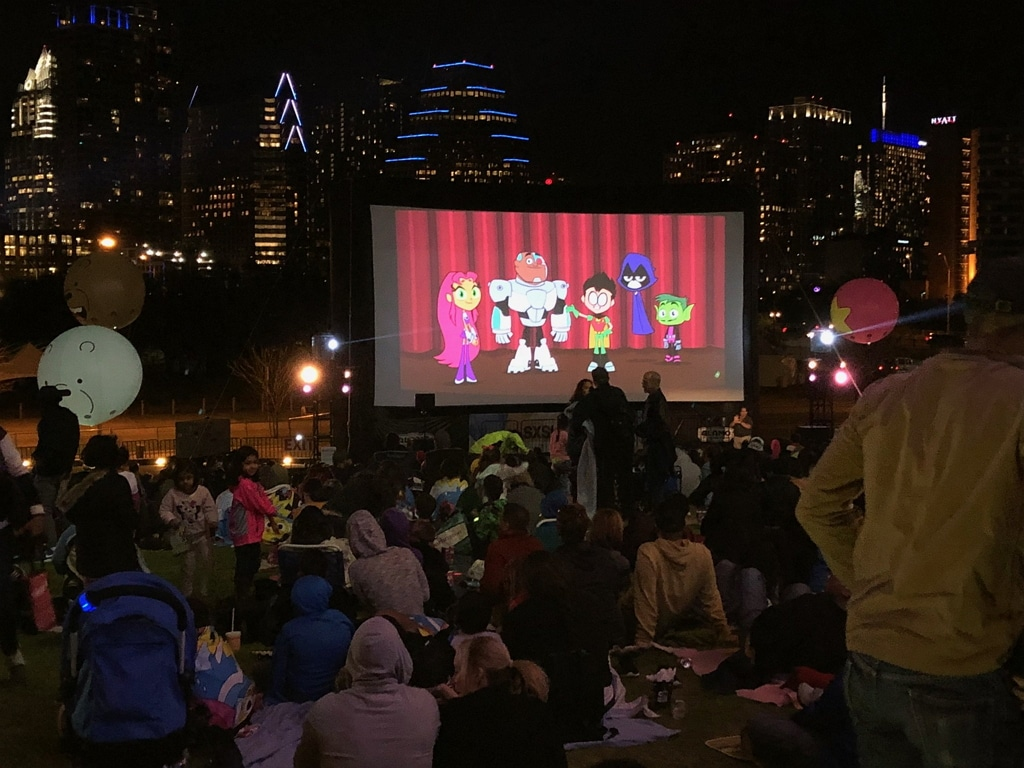 Cartoon Network On The Green At SXSW Last Night 12th March 2018