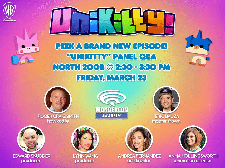 Unikitty! Panel At Wondercon 2018 Tomorrow 23rd March