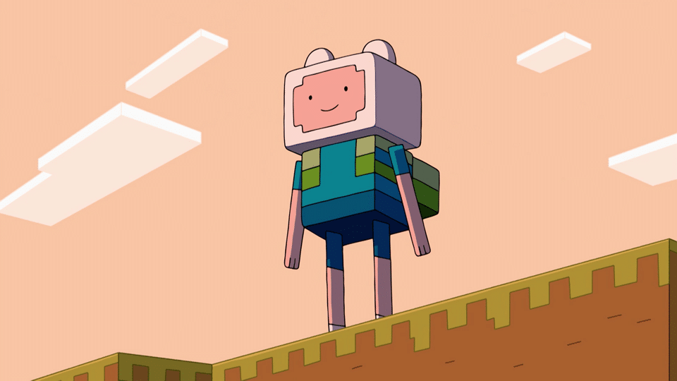 Adventure Time Minecraft Episode Short Clip In Cartoon Network Russia And Southeastern Europe Showreel