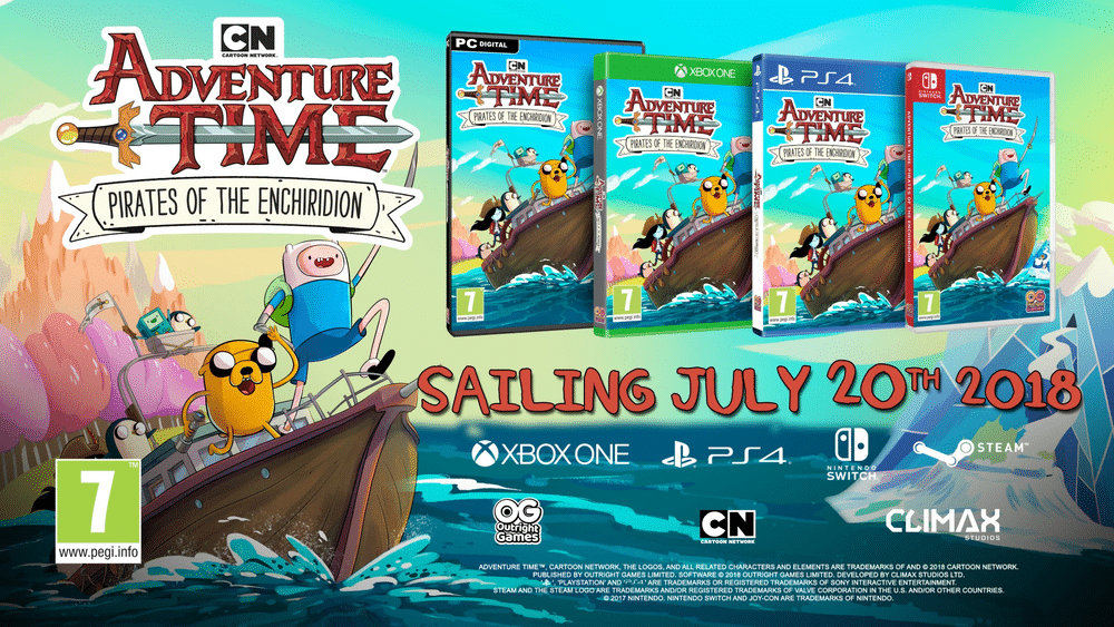 Adventure Time: Pirates of the Enchiridion Video Game Release Dates Announced