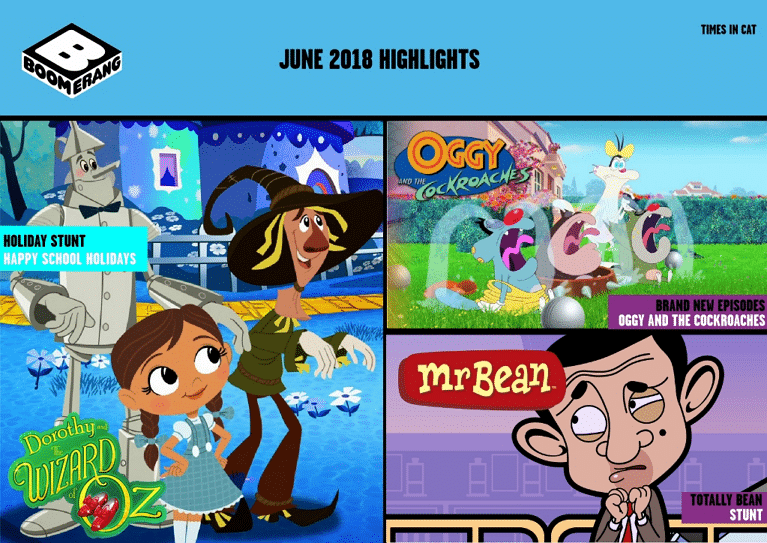 Cartoon Network Africa And Boomerang Africa June 2018 Highlights