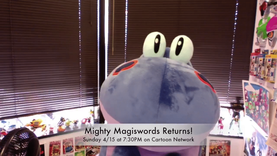 Cartoon Network USA New Episodes Of Mighty Magiswords From Tomorrow 15th April8