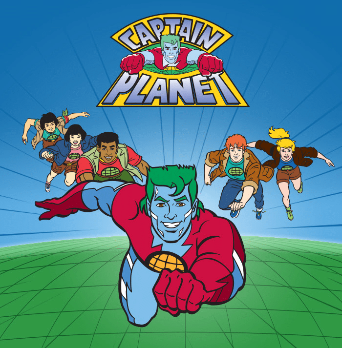 Boomerang USA Newsletter Stream Free Captain Planet On Earth Day Weekend