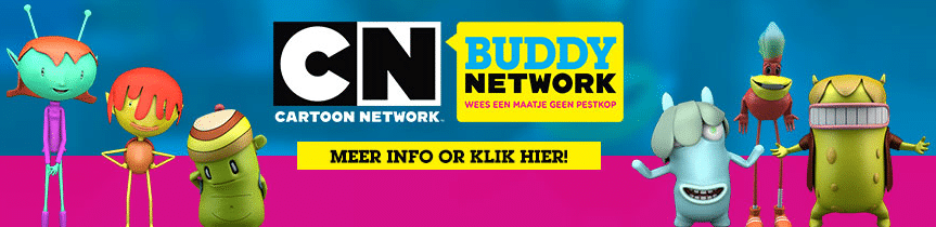 Cartoon Network Netherlands Launches CN Buddy Network Anti-Bullying Campaign 2018
