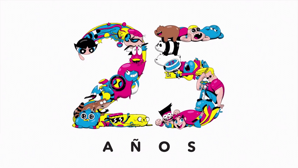 Cartoon Network Latin America To Celebrate Its 25th Birthday With An Online 10 Hour Time Machine Marathon Of Cartoon Network's Classic And Current Shows