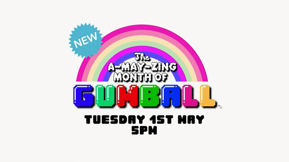 Cartoon Network UK The A-May-zing Month Of Gumball Starts 1st May 2018
