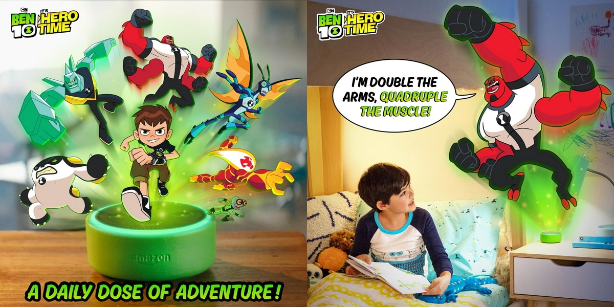 Cartoon Network Releases A New Interactive Story Experience Ben 10: It's Hero Time For Amazon Echo Dot Kids Edition
