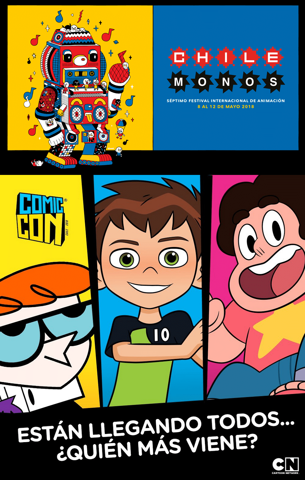 Cartoon Network At The Chilemonos Animation Festival And Chile Comic Con 2018