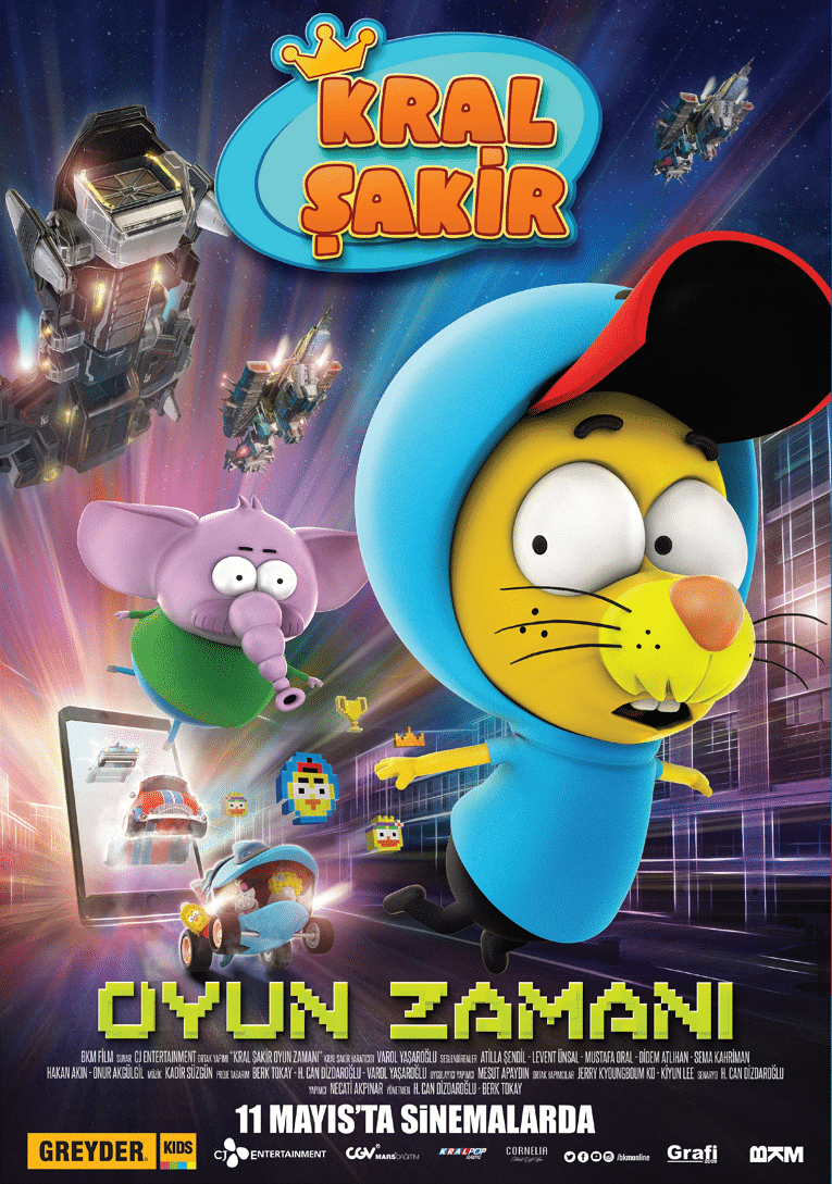 Cartoon Network Turkey's Original Series Kral Şakir Now Has Its Very Own Movie In Cinemas Across Turkey