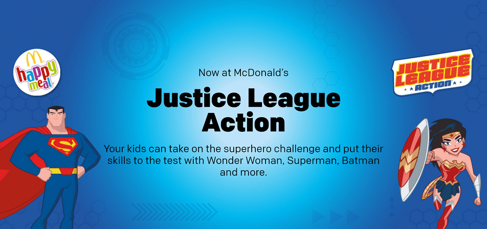 Justice League Action Happy Meals Now At McDonald's UK