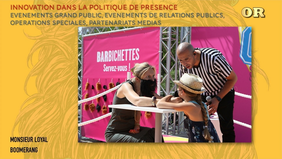 Boomerang France Wins Media Changers Award For Barbichette Cup Public Event