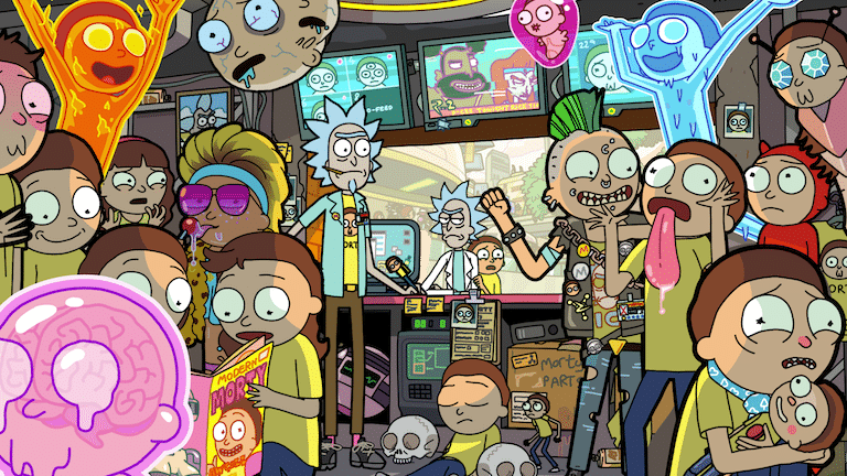 Turner's Adult Swim Buys Big Pixel Studios: The Game Developer Of The Rick And Morty Themed Mobile Game - Pocket Mortys