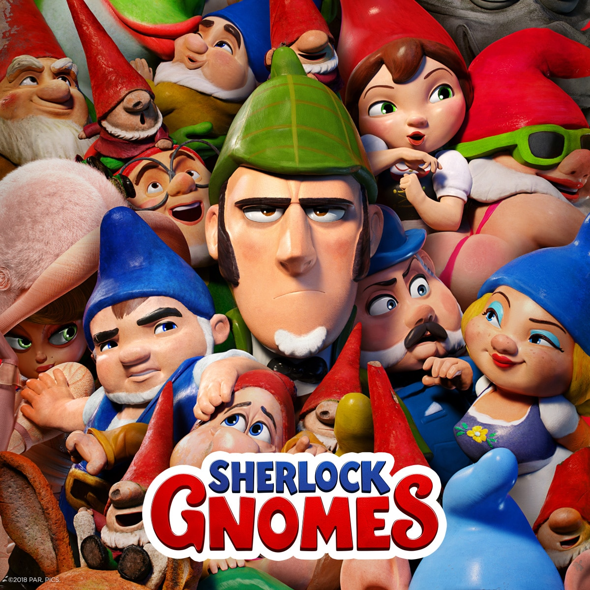 artoon Network UK Teams Up With Paramount Pictures To Celebrate The Launch Of The Sherlock Gnomes Movie