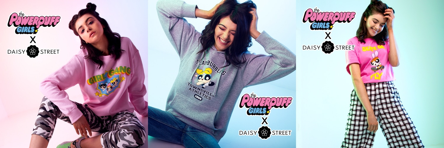 Cartoon Network Enterprises EMEA Teams Up With Online Fashion Retailer Daisy Street For Powerpuff Girls Inspired Collection
