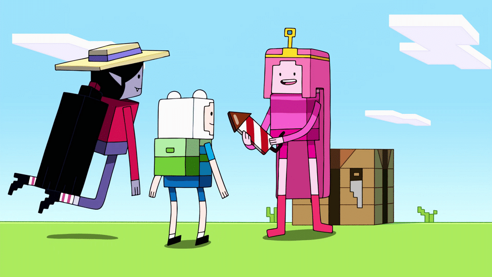 Cartoon Network USA Adventure Time Minecraft Special Diamonds And Lemons To Premiere 20th July
