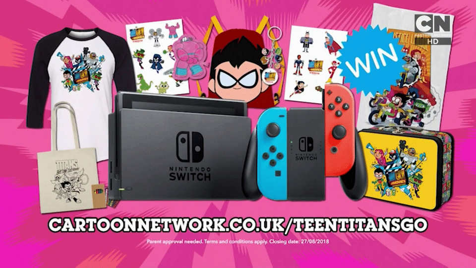 Cartoon Network UK Teen Titans Go! Summer Watch And Win Competition