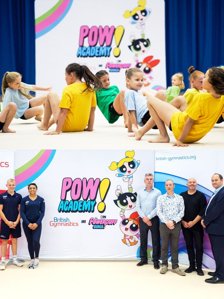 Cartoon Network UK The Powerpuff Girls Gymnastics POW! Academy