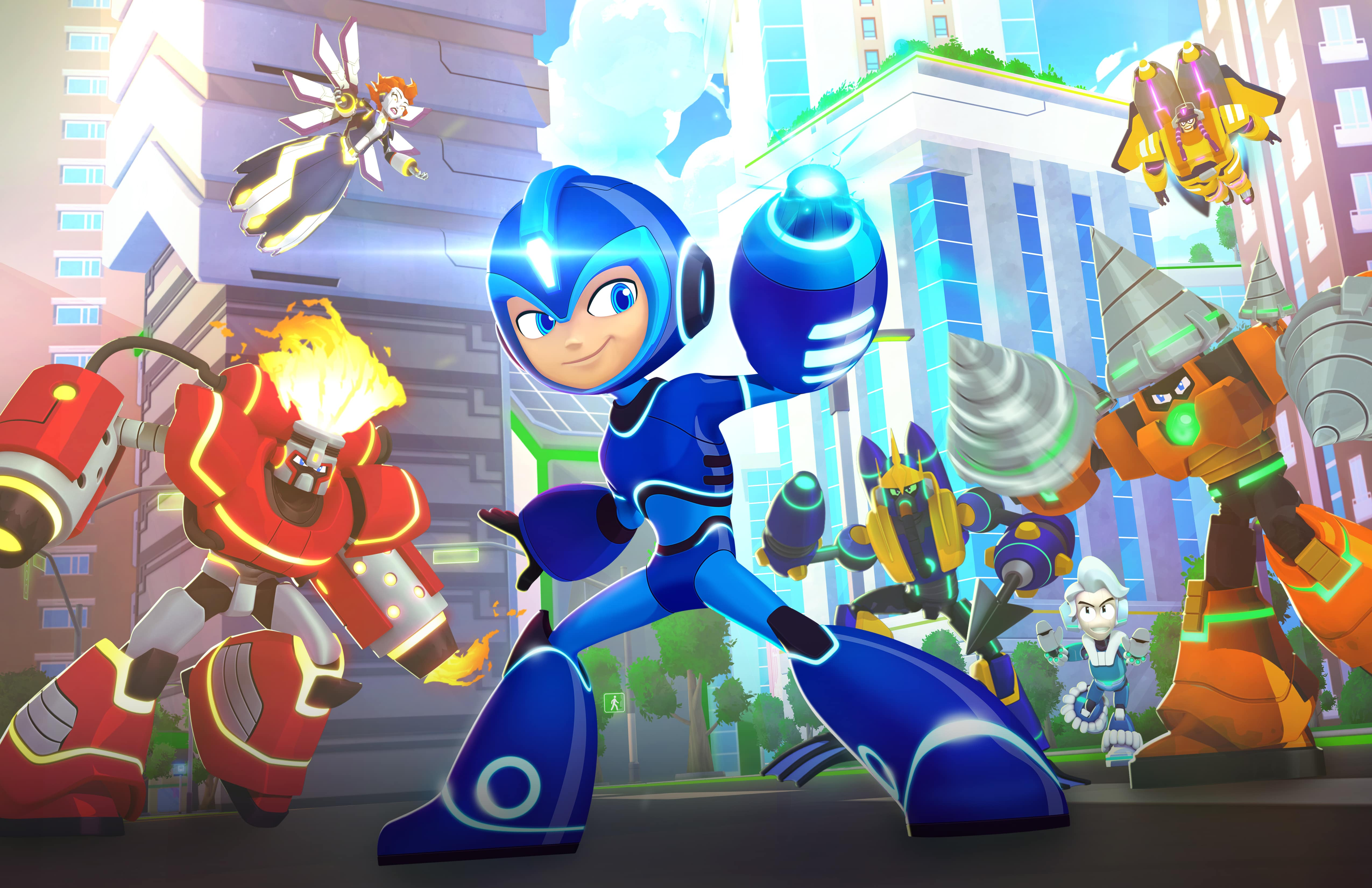 Mega Man: Fully Charged New Show Premieres 5th August On Cartoon Network USA
