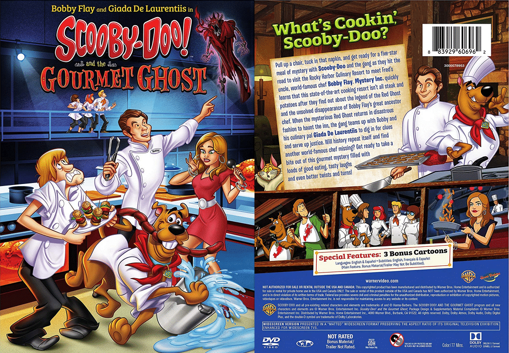 New Movie Scooby-Doo! and the Gourmet Ghost To Be Released On DVD In The United States 11th September