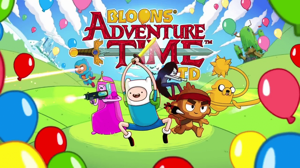 Bloons Adventure Time TD A New Mobile Game Launching On iOS And Android On 30th August